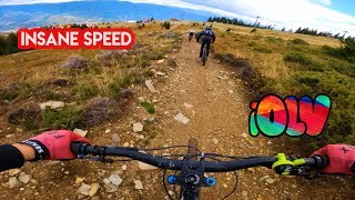 INSANE SPEED IN STRAJA EXTREME BIKE PARK