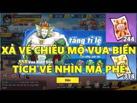 Download One Punch Man: The Strongest - Xả Vé Chiêu Mộ Định Hướng Vua Biển Sâu Tích Hơn 500 Vé Nhìn Phát Thèm