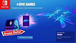 Get Arcana Gliders FOR FREE & Fortbyte 47 | Fortnite Switch