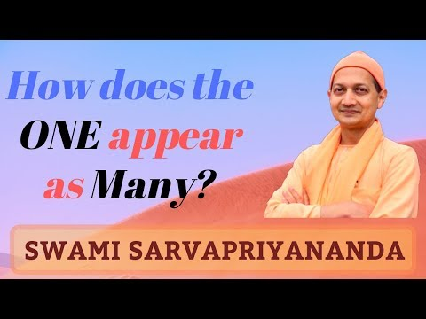 How does the One appear as Many? | Swami Sarvapriyananda