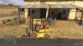 Gta 5 - Fork Lift Fun And Chaos