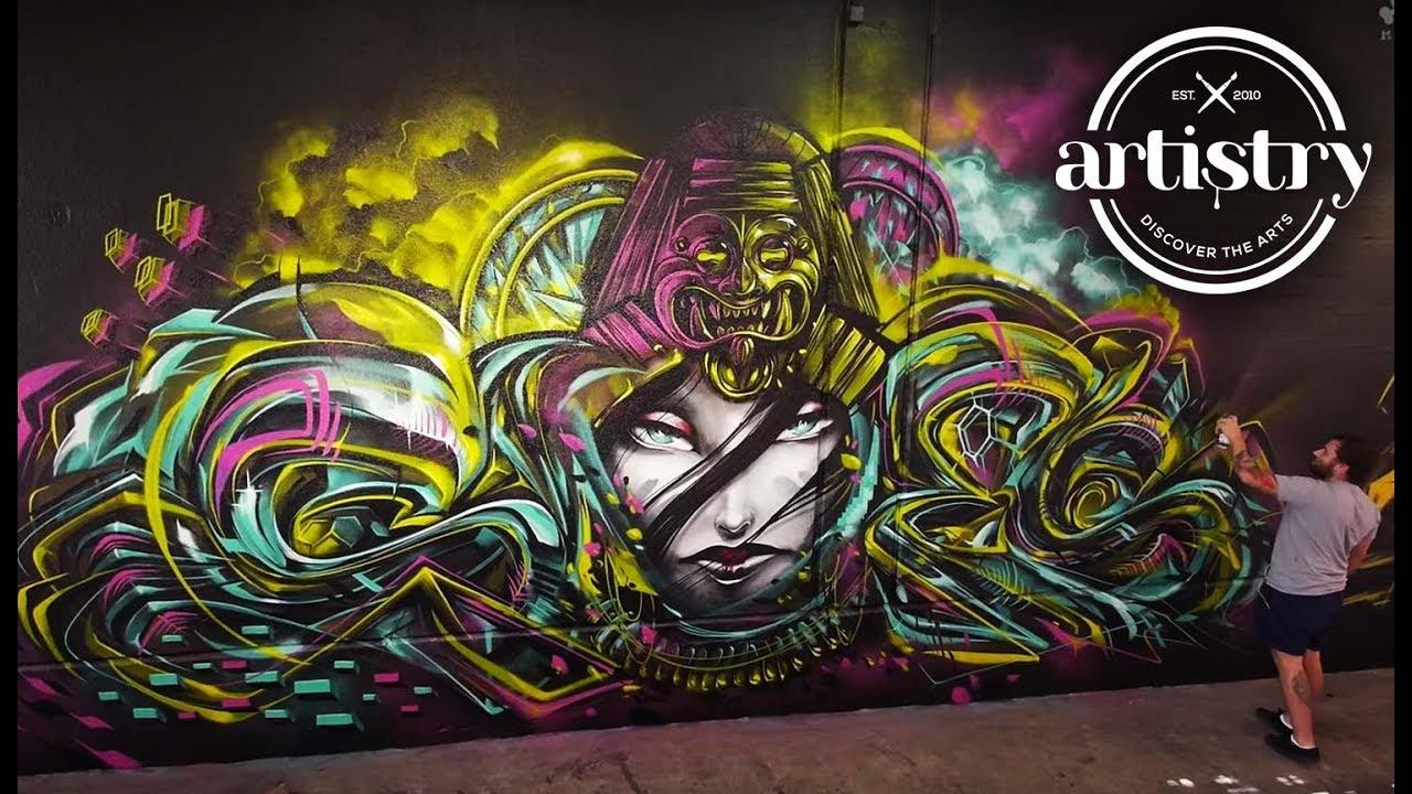 Sofles 2018 the best graffiti artist