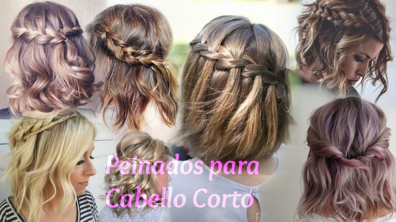 Peinados Fiesta Cabello Corto 2017 Cortes De Cabello 2019