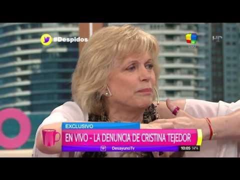 Drama y lágrimas de Cristina Tejedor tras conmovedor relato