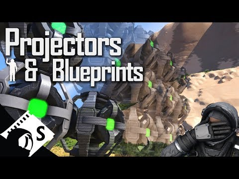 Space Engineers Tutorial: Projectors and Blueprints (tips, tutorials and testing for survival)