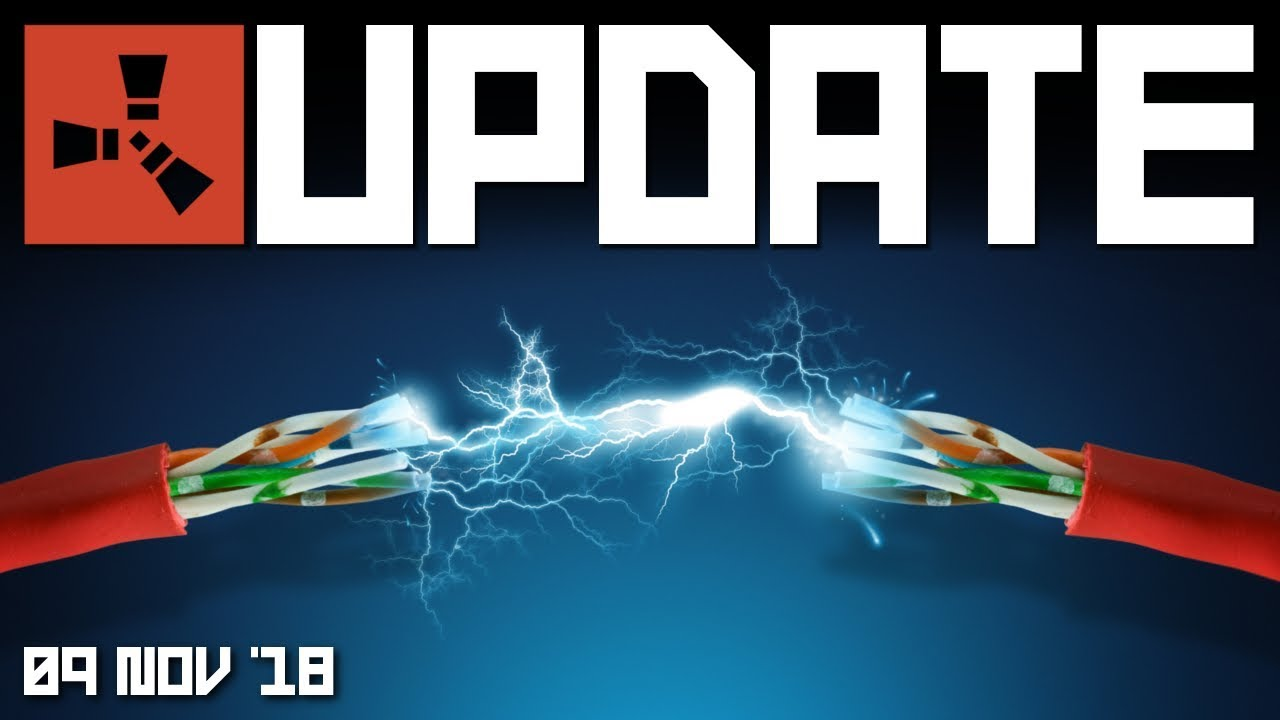 ELECTRICITY on its way! | Rust update 9th November 2018