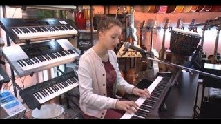 Dasha Safronova - Sorry Seems To Be The Hardest Word (Vocal and Piano cover)