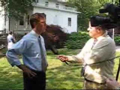 Ned Lamont Interview Before Lowell Weicker Event