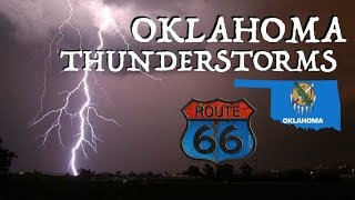 Turbines, Tractors, Diners, & Lightening/Thunder Storm in Oklahoma
