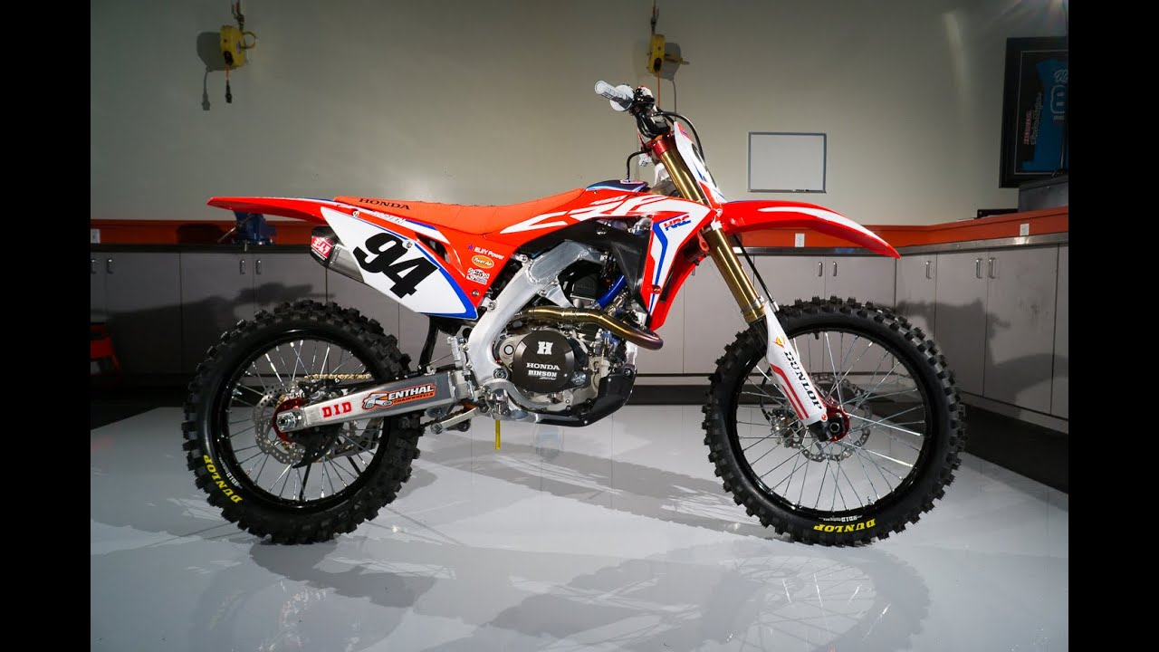 Introducing The Newest Member Of Team Honda Hrc Youtube