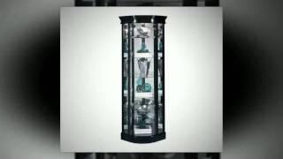 Space Saving Corner Curio Cabinets At Curiocabinetspot.com