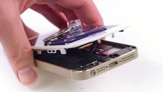 Разборка iPhone 5S. Ремонт телефонов в i-Mob(Компания i-Mob осуществляет быстрый и качественный ремонт: телефонов, смартфонов, планшетов, ноутбуков и..., 2017-01-08T20:08:39.000Z)