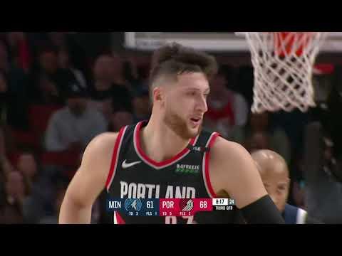 Minnesota Timberwolves vs Portland Trail Blazers : December 8, 2018