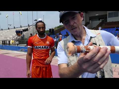 Sardar stick selection. India hockey captain Sardar Singh talks about his hockey stick