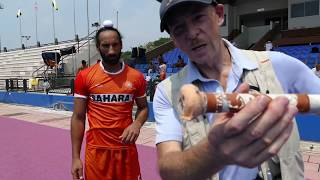 Sardar stick selection India hockey captain Sardar Singh talks about his hockey stick