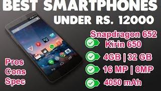 Best Smartphones Under Rs. 12000