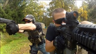 Run and Gun Action with the GoPro & Flip