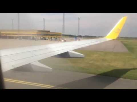Primera air Lamezia Terme - Malmö Sturup full flight | Turbulence | HARD LANDING!
