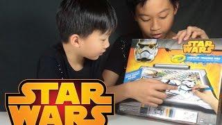 รีวิวกระดานวาดรูปสตาร์วอร์ - Star Wars Light-Up Tracing Pad - Crayola