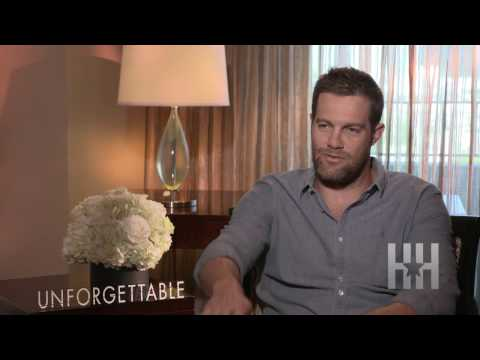 Geoff Stults Talks Filming 'Unforgettable' Love s With Rosario Dawson