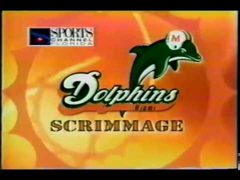 1999 PreSeason Scrimmage vs Bucs at Orange Bowl