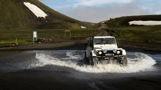 ICELAND Offroad Tour 2013 - ISAK Land Rover Super Defender