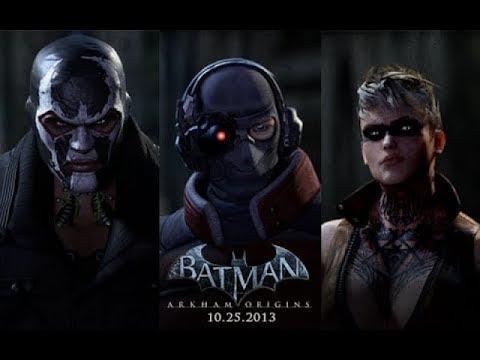 Batman  Arkham Origins Все Боссы + Концовка