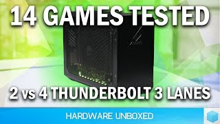 External GPU Bandwidth Tested, Is 2 PCIe Lanes Enough For Gaming?