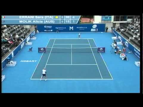 Sara Errani Vs Alicia Molik full match