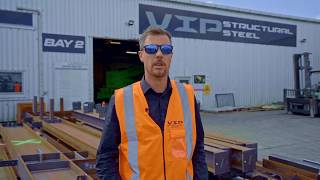 VIP Structural Steel Workshop Tour Bay 2 & 0, Bromley Christchurch