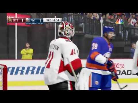 NHL® 18 Ottawa Senators vs New York Islanders