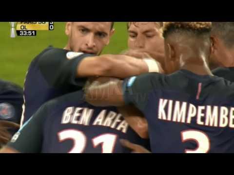 PSG vs LYON 4-1 ( trophée des champions ) Tous Les Buts HD