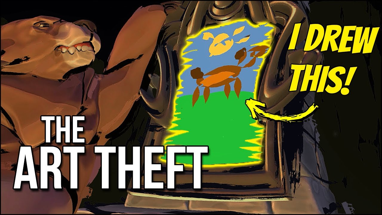 The Art Theft | Mad Libs In VR Is Amazing! ...And Scary??
