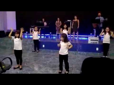 Coreografia Deus De Promessas Crianças Igreja Batista Nova Aliança De Angatuba - Marcela Xavier