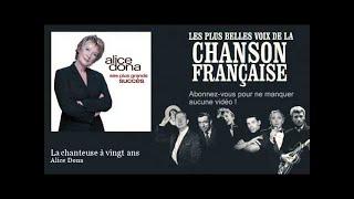 Alice Dona - La chanteuse à vingt ans