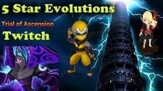 F2PG Summoners War - Next Twitch, Rune Powerup +15, Verdihille Orochi Awaken, TOA Hall of Dark