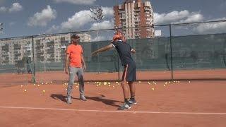 Теннис. Дневник тренировок. 20.