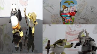 Kung Fu Panda 3 Kinder Surprise Eggs All Characters