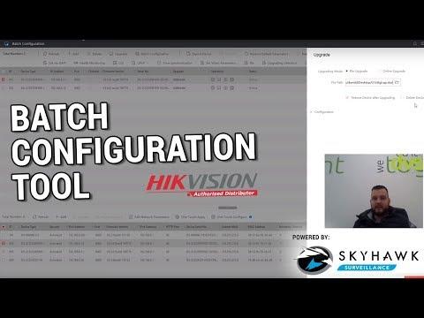 Hikvision Batch Configuration Tool - YouTube