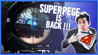 SUPERPEGE IS BACK !!! PUBG MOBILE #pubgmobile #pege #proplayer #1mansquad #pubgm