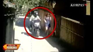 Tindakan Asusila pada Turis Asing Terekam CCTV