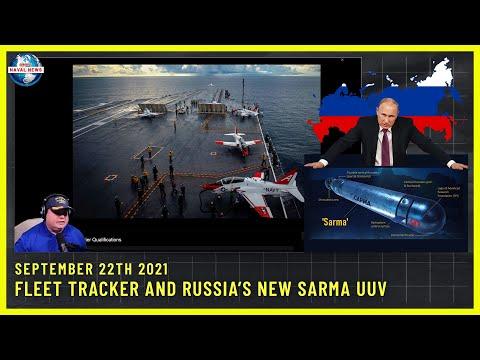 Fleet Tracker and Russia's new SARMA UUV