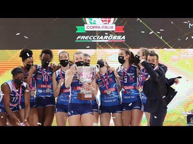 Review Coppa Italia Frecciarossa   Lega Volley Femminile 2020/21