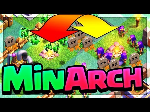 HYBRID - OP? Clash of Clans Builder Base Strategy for BH5 and BH6!