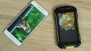 неубиваемый смартфон за 75! Обзор Geotel A1