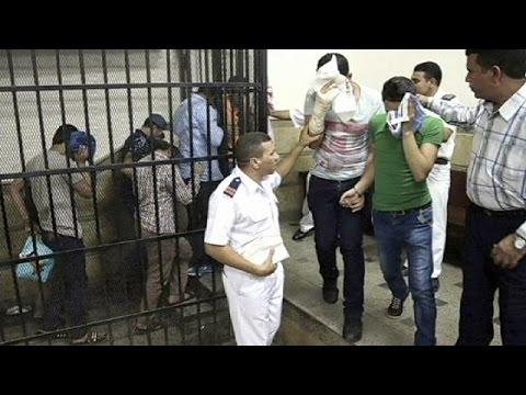 Egypt Jails Eight Men Over 'gay Wedding' Video