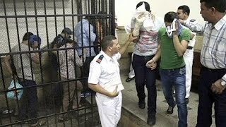 Egypt jails eight men over 'gay wedding' video