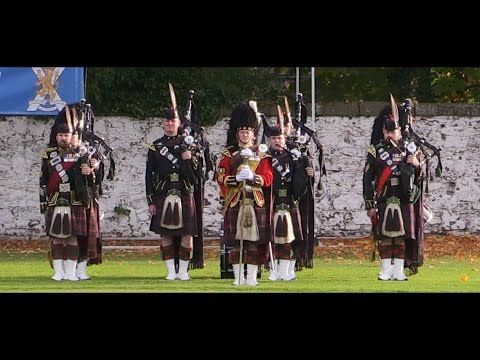 Royal Regiment receives the Freedom of the Highlands