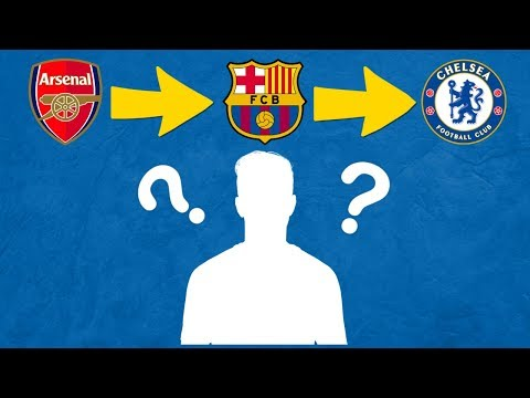 Can You Guess The Footballer From Their Transfers? | Football Quiz