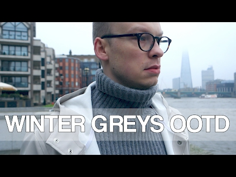 Winter Greys OOTD | Project Common